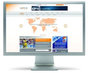 Web Homepage VisualSB